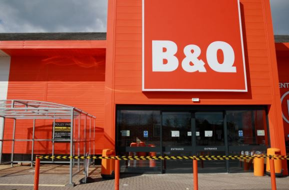 B&Q Chester survey