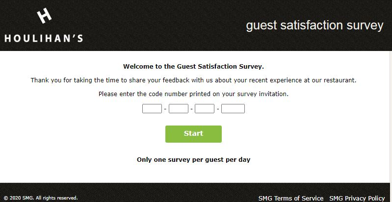 Chequers Seafood Grill Guest survey