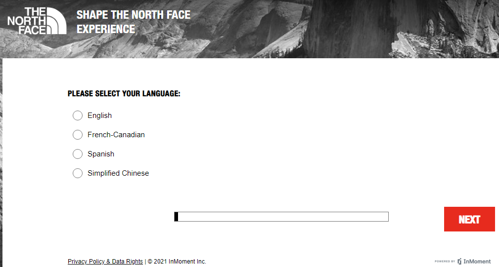 THE NORTH FACE SURVEY