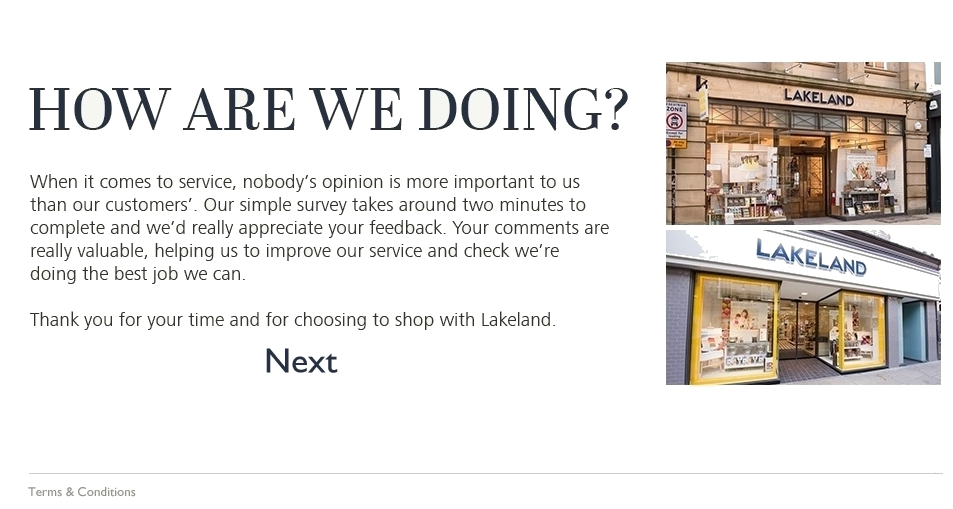 lakeland customer feedback